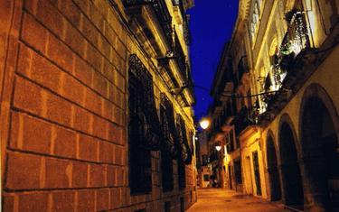 Calles del casco viejo de Xàbia