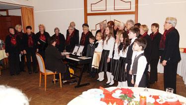 Weihnachtsfeier des Verschönerungs-und Wandervereins 09. Dezember 2012