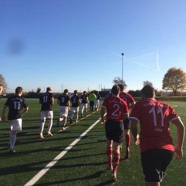 Fussballspiel ASV Aichwald - SG Eintracht Sirnau