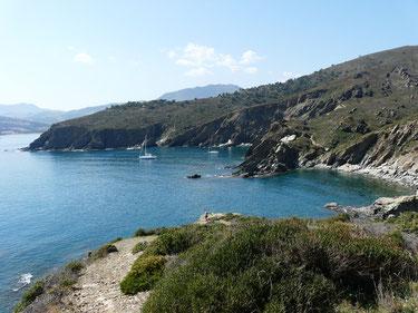 côte vermeille, Frankreich, Roussillon