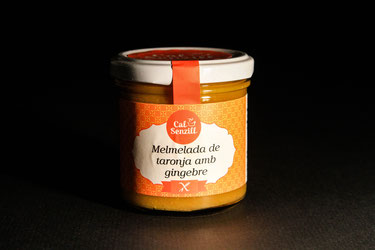 Orange and ginger marmalade