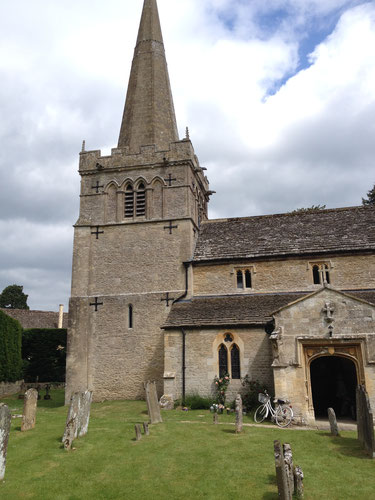 Down Ampney church