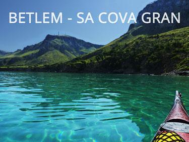 sea kayaking guided trip mallorca excursion natural park