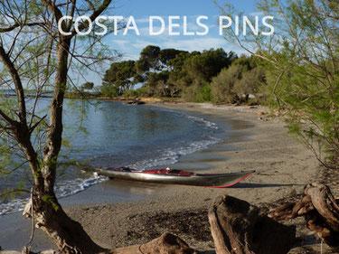 kayak en costa de los pinos mallorca