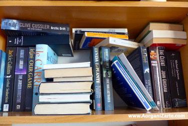 Organiza tus libros para encontrar el que buscas - AorganiZarte
