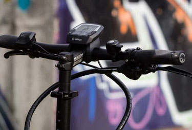 Das Bosch Intuvia e-Bike Display liefert die wichtigsten Fahrdaten im Überblick und ist gut lesbar