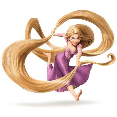 Персонаж Рапунцель (Принцессы Диснея) в товарах компании Волшебник