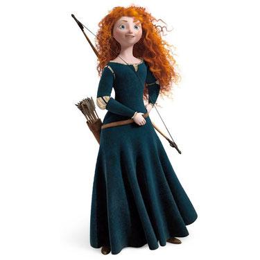 Персонаж Мерида (Принцессы Диснея) в товарах компании Волшебник