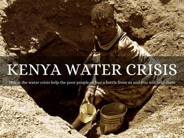 La crisi dell'acqua in Kenya