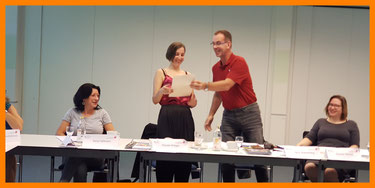 Copyright by bp-awp.de - Verleihung der Urkunde