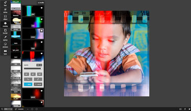 Pixlr Desktop Photo artitistic effects is a must for filters, layouts and frames