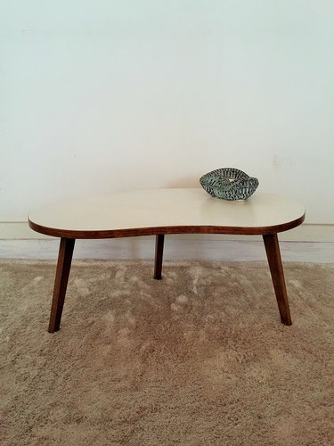 Table basse tripode palette vintage