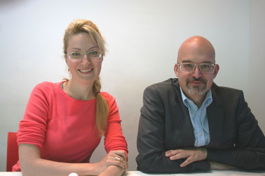 Transmetrics' CCO, Anna Shaposhnikova  andCEO, Asparuh Koev  (MS)