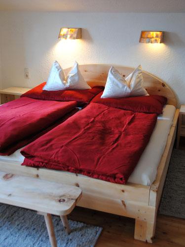 Schlafzimmer am Sturm-Archehof in Heiligenblut am Großglockner