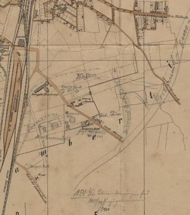 1892  Ausschnitt Hafengebiet