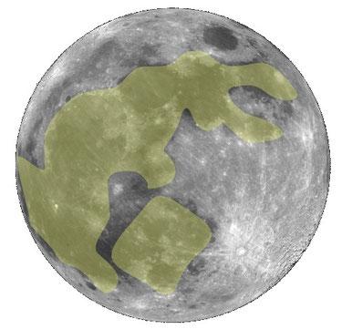 Der Hase im Mond, Quelle Wikimedia Commons