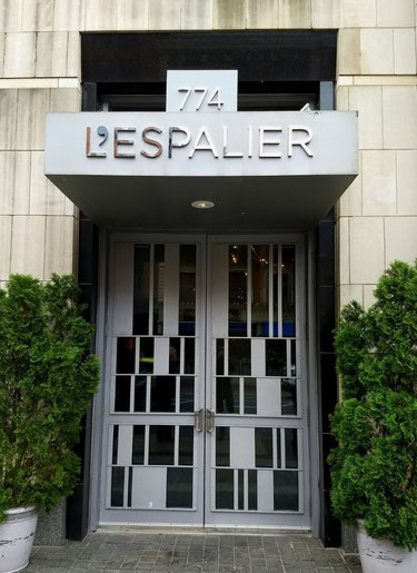 L'espalier - Amazing restaurant in Boston