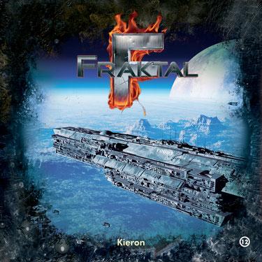 CD-Cover Fraktal - Folge 12 - Kieron
