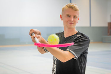 Clemens Froböse, Floorball // Foto: Fleibold.Sport