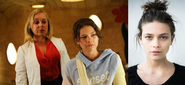 Szenenbild Christine Urspruch, Harriet Herbig-Matten: ZDF / Markus Fenchel, Harriet Herbig-Matten.
