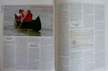 GALLAIS & col, Des étudiants construisent un canoë cree, in Chasse-Marée n° 45, 1989 (la Bibli du Canoe)
