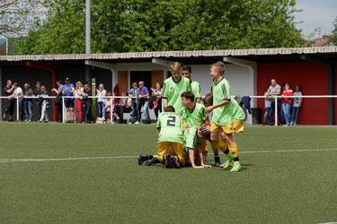 das vielumjubelte 2-0 durch Marcel Grub