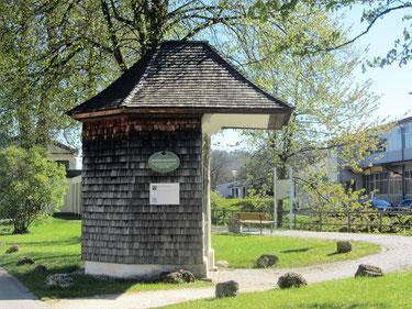 Die Nepomukkapelle am Triftweg