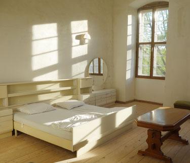 Gästezimmer im Koptischen Kloster. Foto: Jennifer Peppler