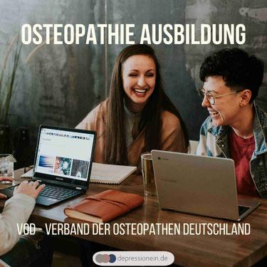 Osteopathie Ausbildung / Studium VOD