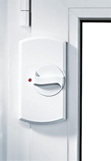 Fenster- und Balkontürensicherung Krallfix® 1, Bandseitensicherung