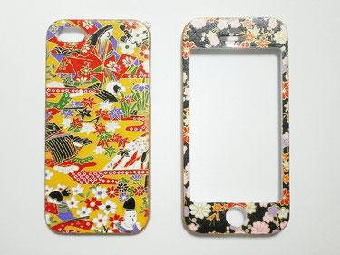 和柄 の スマートフォンケース 両面タイプ iPhone 5・5S 一点もの