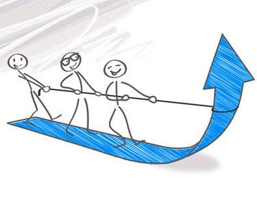 Fundraising: Fördermittelakquise und Unternehmenskooperationen: Gemeinsam ziehen wir an einem Strang und gelangen ans Ziel.