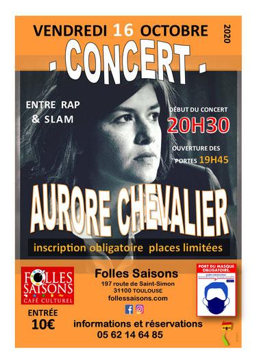 Concert - Aurore Chevalier à Folles Saisons