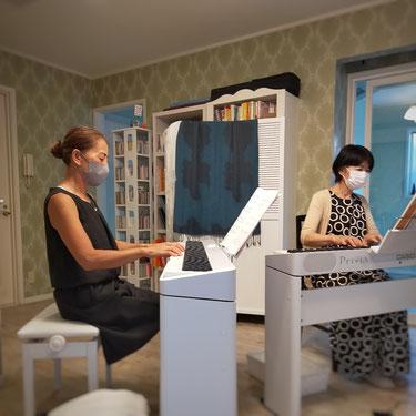ミドル世代のピアノレッスン