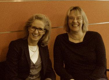 Dr. Sabine Reichelt-Nauseef und Judith Andresen