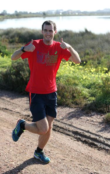 Philipp Meixner (hier beim Training mit dem team2012.at in Monte Gordo (POR) bringt beständig Leistungen auf hohem Niveau!