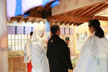 山梨 神社結婚式 武田神社 浅間神社
