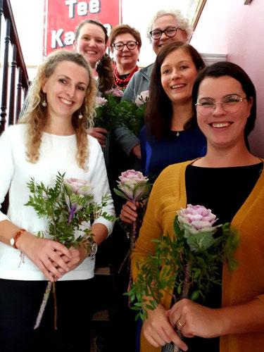 v.l.n.r.: Lisa Wagner, Jennifer Collin, Ludmilla Herrmann, Kirstin Fussan, Meike Kulgemeyer und Mareen Curran; © Meike Kulgemeyer 2019