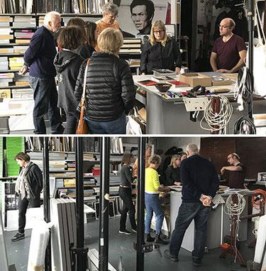 Im Atelier bei Katja Stuke und Oliver Sieber