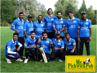 Olten Cricket Club - 2017 Swiss Mr Pickwick T20 Cricket Champions