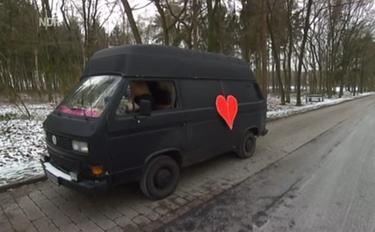 Wendy im Lovemobil
