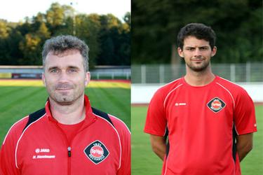 Mit der gezeigten Leistung ihres Teams absolut zufrieden - das Trainerteam Haselmann/Blankenburg