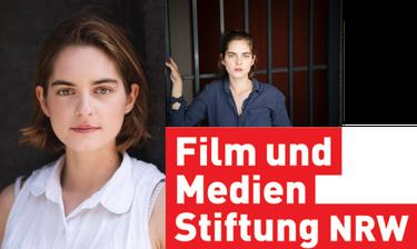 Vanessa Loibl © Niklas Vogt, Logo & ©: Film und Medien Stiftung NRW