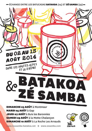 Batakoa et Zé Samba - Zé l'été 2014