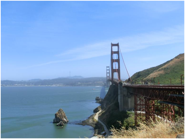 Aussichtspunkt Golden Gate Bridge