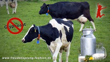 Die Molkerei Berchtesgadener Land verbietet Ihren Milch-Lieferanten den Einsatz von Glyphosat - unser Freudensprung der Woche!