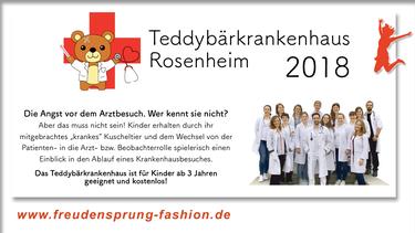 Das Teddybärkrankenhaus Rosenheim ist unser Freudensprung der Woche!