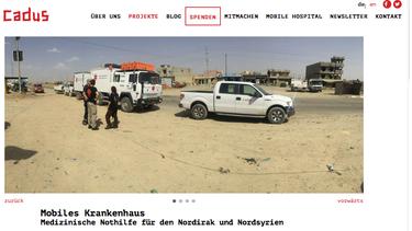 CADUS - die etwas andere NGO aus Berlin ist unser heutiger Freudensprung der Woche