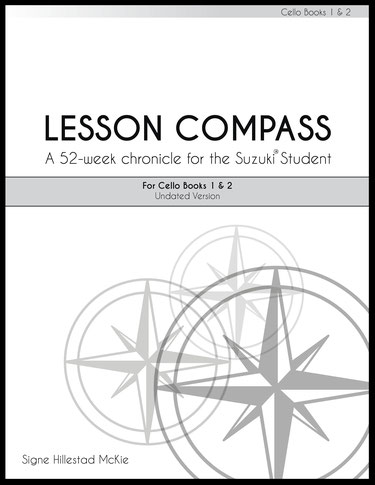 Lesson Compass for Suzuki Books 1 & 2
