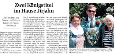 Elbe-Jeetzel- Zeitung 02.Juni 2017